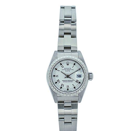 Rolex Date Automatic-self-Wind Female Watch 79240 (Certified (Ladies Rolex Date Watch)