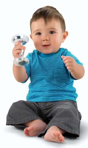 Fisher Price Silver Dumbbell Discontinued Manufacturer