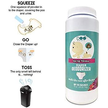 Amazon.com: Disposable Diaper Odor Eliminator/Apply on Poo