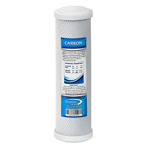 rbon Block Coconut Shell Replacement Filter Cartridge for Reverse Osmosis RO System, 9.78