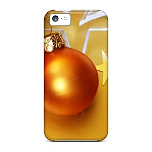 Ikv5022xlEl Snap On Cases Covers Skin For Iphone 5c(christmas Ball)