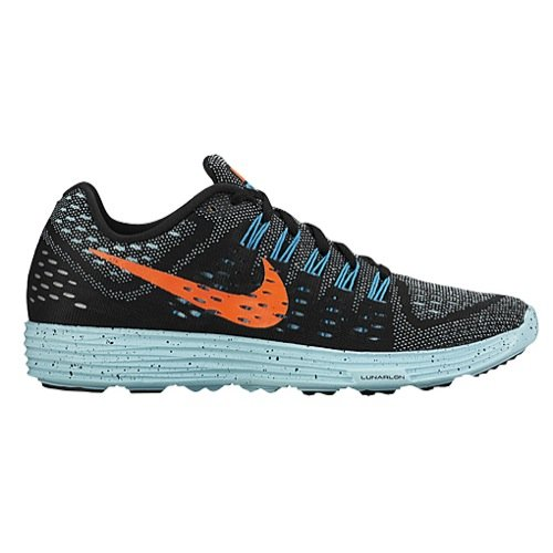 UPC 887231191574, Nike Womens Wmns Lunartempo, BLACK/HYPER ORANGE-COPA-BLUE LAGOON, 8 US