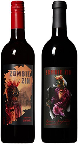 Zombie Apocalypse Non Vintage California Red Wine Mixed Pack 2 x 750 ml