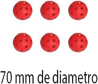 BALLES HOCKEY DUR-AGUJEROS 70 AMAYA SPORT