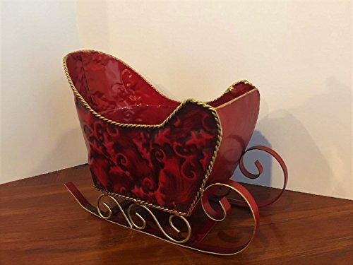 Metal Sleigh Basket -