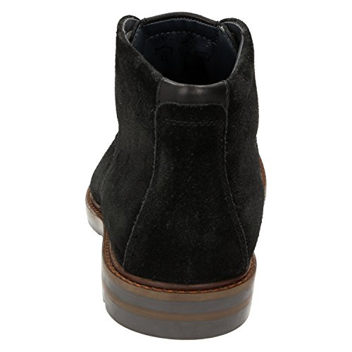 Sioux - Botas de Piel para hombre Negro negro