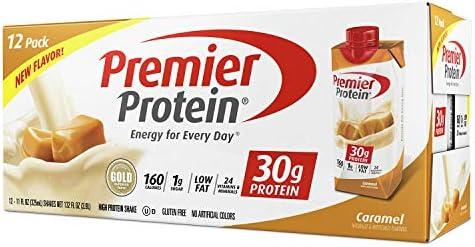 Premier Protein High Protein Shake, Caramel 11 fl. oz., 12 pack Thlfld