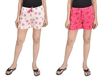 A9- Women's Regular Shorts(Pack of 2)