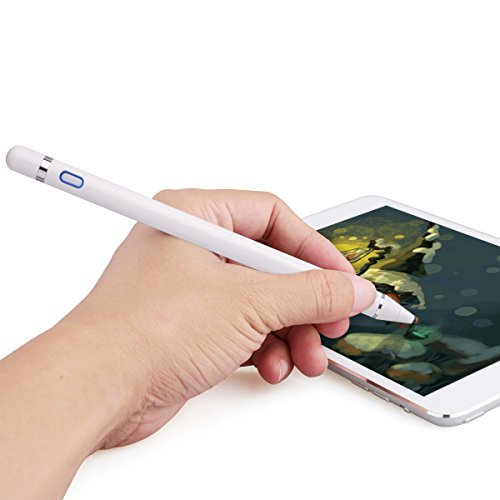 Zspeed Active Stylus Pen, 1.45mm High Precision and Sensitivity Point Capacitive Stylus, for most Touch Screen Device (White) by Zspeed (Image #5)