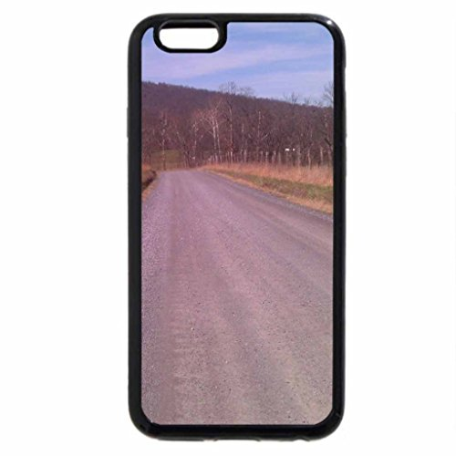 iPhone 6S / iPhone 6 Case (Black) Road to the Allegheney Mtns.