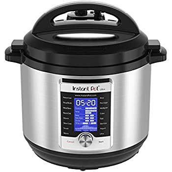 Instant Pot Ultra 10-in-1 Electric Pressure Cooker, Slow Cooker, Rice Cooker, Steamer, Saute, Yogurt Maker, Cake Maker, Egg Cooker, Sterilizer, and Warmer|8 Quart|16 One-Touch Programs
