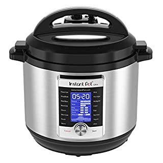 Instant Pot Ultra 10-in-1 Electric Pressure Cooker, Slow Cooker, Rice Cooker, Steamer, Saute, Yogurt Maker, Cake Maker, Egg Cooker, Sterilizer, and Warmer 8 Quart 16 One-Touch Programs (B07588SJHN)   Amazon price tracker / tracking, Amazon price history charts, Amazon price watches, Amazon price drop alerts