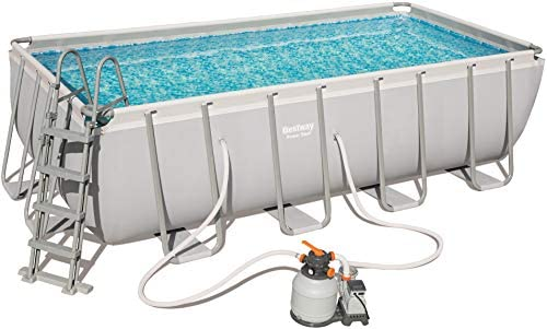Bestway 56671 Power Steel Rectangular Pool 488 x 244 x 122 cm ...