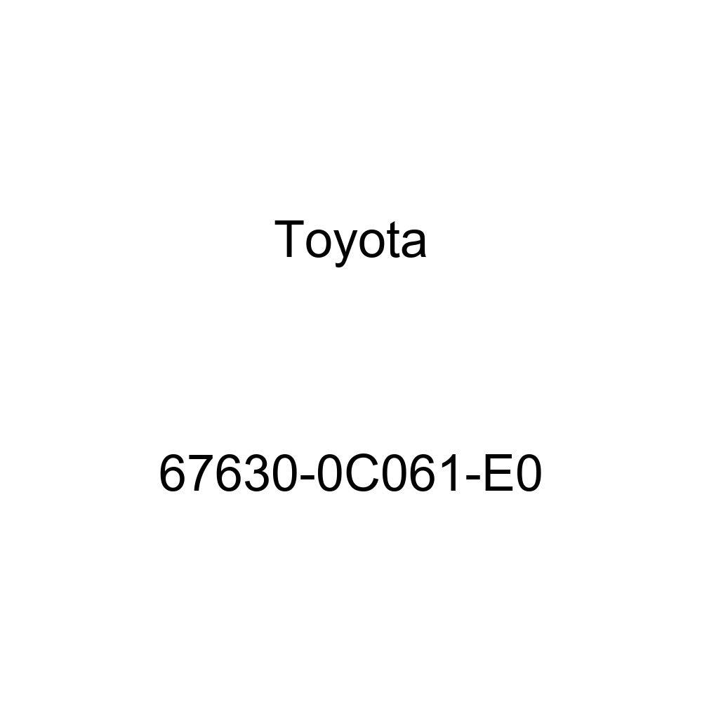 Genuine Toyota 67630-0C061-E0 Door Trim Board