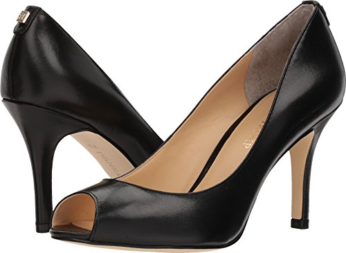 Ivanka Trump Womens Cleo 5 Black Leather 8 M