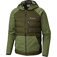 Columbia Men's Ramble Hybrid Hooded Down Jacket (Peatmoss/Mosstone)