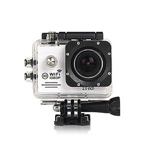 Reachs Sj7000 2.0 Inch LCD Wearable Action Hd Digital Camera, Wireless Wifi, 1080p Hd Video, 12000000 Pixels, 30m Waterproof, 90 Minutes Duration Helmet Sports Dv