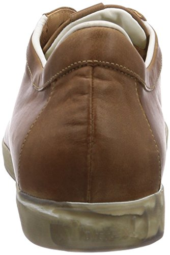 Think KENIDI Herren Sneakers Braun (SATTEL/KOMBI 52)
