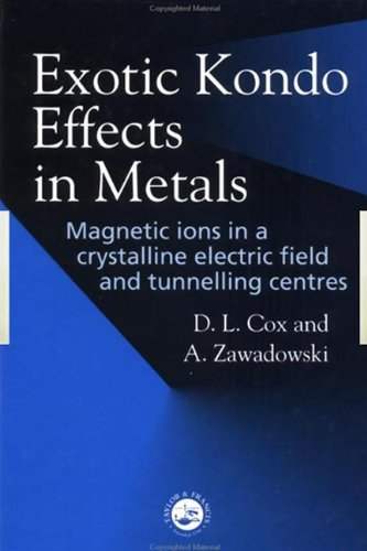 (Exotic Kondo Effects in Metals: Magnetic Ions in a Crystalline Electric Field and Tunnelling Centres)