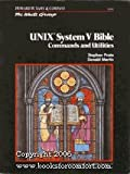 img - for Unix System V Bible: Commands and Utilities (The Waite Group) book / textbook / text book