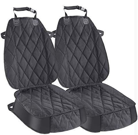 AsFrost Dog Seat Cover Cars Trucks SUVs, Thick 600D Heavy Duty Pets Car Seat Cover, Waterproof Wear-Resistant Durable Nonslip Backing Hammock Convertible