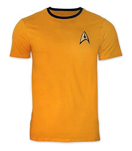 - Star Trek T-Shirt Captain Kirk Uniform (XL) yellow