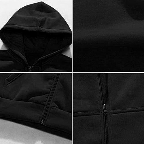 Épaisse Veste Blouse Manteau Hiver Roiper À Capuche Noir Tops Rembourré Hommes Automne Coton Gilet Tzw14P