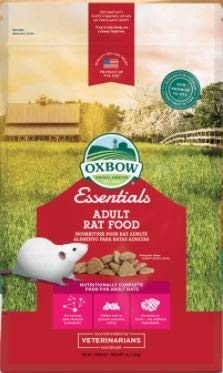 Oxbow Essentials Adult Rat Food, 3-Pound Bag ()