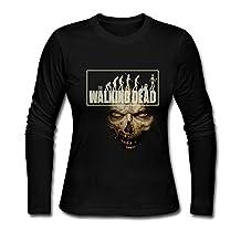 Long Sleeve-Women's Fear The Walking Dead Season 2 Long Sleeved T Shirt Shirt.