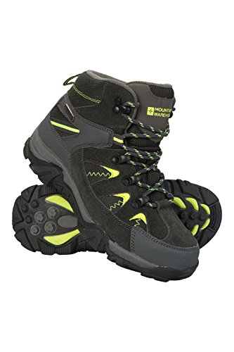 Image of Mountain Warehouse Rapid Kids Boots - Childrens Walking Shoes Lime 3 Child US