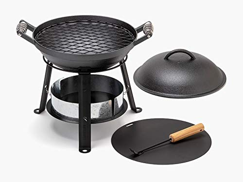 Barebones | Cast Iron Grill, All In One Open Fire Cooking
