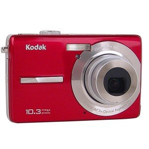 Kodak EasyShare MX1063 10.3MP 3x Optical/5x Digital Zoom HD Camera (Red)