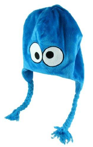 Sesame Street Cookie Monster Furry Laplander Ski Hat