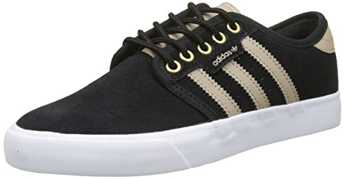 adidas Seeley, Men's Trainers Black (Core Black/Trace Khaki /Ftwr White)