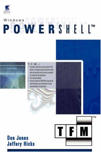 Microsoft Windows PowerShell: TFM