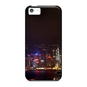 Iphone Cover Case - Hong Kong Night Protective Case Compatibel With Iphone 5c