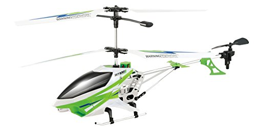 Sky Rover Exploiter S 3 Channel with Gyro Helicopter, Green Vehicle