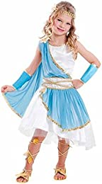 Goddess Girl Costume Child Dress Up Halloween Greek Roman Blue White Gold M 8-10  sc 1 st  Amazon.com & Amazon.com: Greek u0026 Roman - Kids u0026 Baby / Costumes u0026 Accessories ...