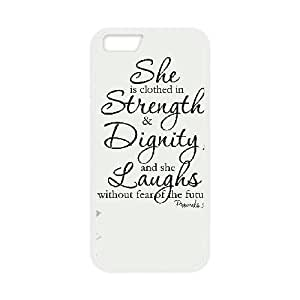 iphone6 plus 5.5 inch cell phone cases White strength and dignity fashion phone cases TRD4548795