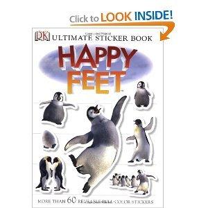 Read Online Happy Feet (DK Ultimate Sticker Books) pdf