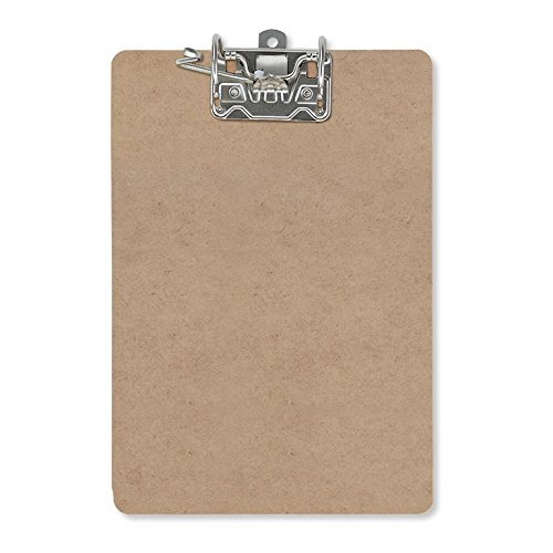 Officemate Recycled Wood Archboard Clipboard, Letter  Size, 9 x 15.5 Inches, Lever Arch Clip (83120)
