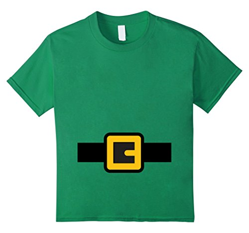 Kids Dwarf Costume Shirt, Halloween Matching Shirts for Group 6 Kelly Green (Halloween Costume Ideas For Teachers Kindergarten)