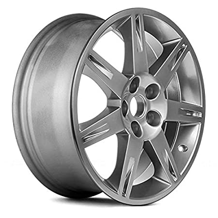 Amazon Com Replacement 7 Spokes Silver Factory Alloy Wheel Fits
