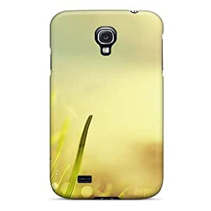 Galaxy S4 Case, Premium Protective Case With Awesome Look - Sunlight In The Grass