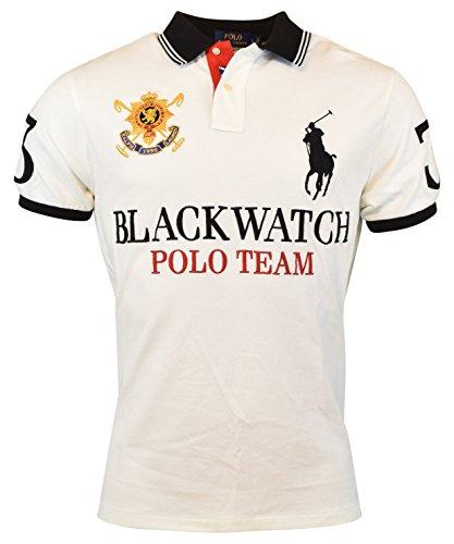 Polo Ralph Lauren Mens Custom-Fit Blackwatch Polo