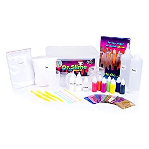 Dr. Slime – DIY Slime Kit for Kids   Amazing Huge Slime Maker Set, Easy Putty Slime Making   Fun Science & Chemistry Learning Activity for Boys & Girls of All Ages by SellerAMZ