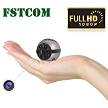 Mini Spy Camera,FSTCOM HD 1080P Indoor/Outdoor Sport Portable Handheld Mini Hidden Spy Camera with Infrared Night Vision (Ball)