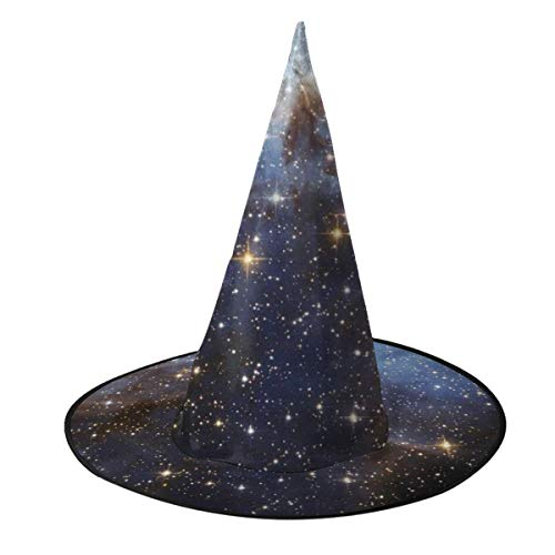 Halloween Party Dream Meaning (NUM1 Meaning of Dream Stars Halloween Hat Unisex Printed Witch Hat Costume Accessory Cosplay Party Cap)