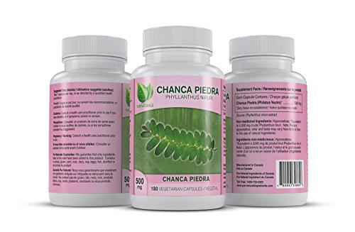 CHANCA PIEDRA -Kidney Stone Crusher - Natural Herb Used to Fight Pain from Kidneys and Gallbladder Attacks - Now with 180 Easy To Swallow Soft (Natural Kidney Stone)