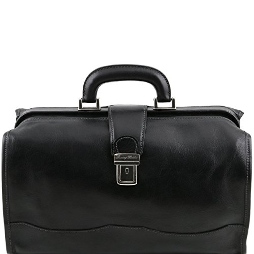 Tuscany Doctor leather Tuscany bag Black Black Leather Raffaello Leather vqCxwa